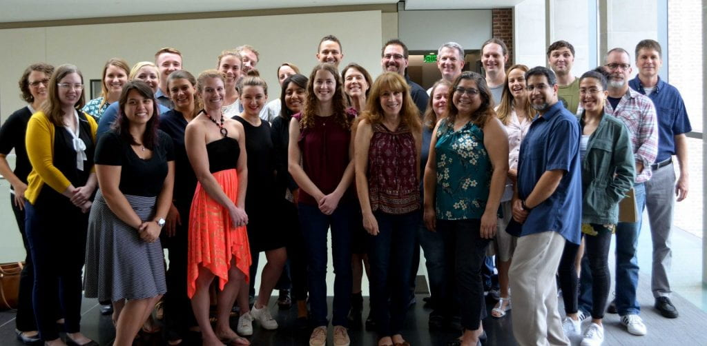 group photo of 2019-2020 PAMT trainees and leadership